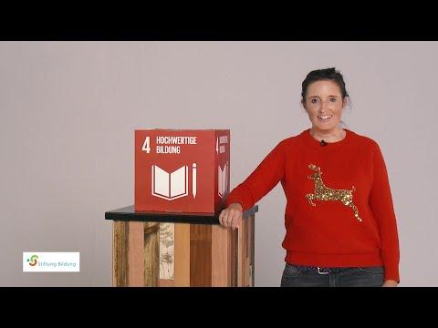 Spenden statt feiern - Weihnachtsfeier Ideen der Stiftung Bildung