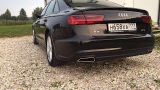Я купил Audi A6 2017 года отзыв владельца после 6 тыс км