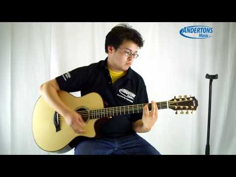 Taylor 8 String Baritone Acoustic Guitar (GT8) Demo