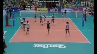 วอลเลย์บอลหญิงไทย - จีน (2)