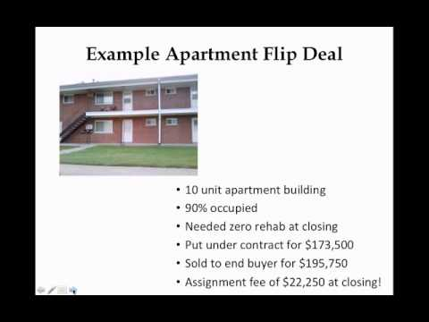 How To Flip Commercial Apartment Buildings with Antonio Edwards and Dennis Fassett