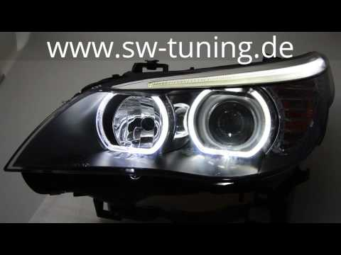 Bmw E60 Spyder Ccfl Halo Projector Headlights Review