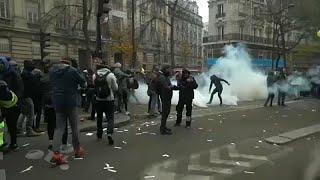 Gewaltausbrüche beim Generalstreik: Dutzende Festnahmen