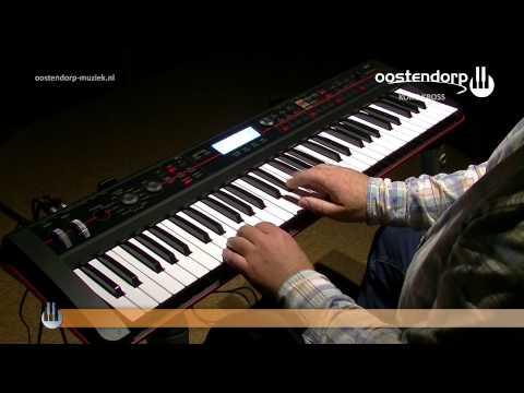 Korg Kross Synthesizer   Sounddemo