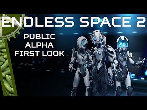 Let's Try: Endless Space 2, Early Access Alpha Build First Look |