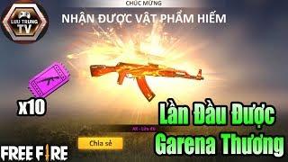 [Garena Free Fire] Chỉ Với 10 Vé Quay Súng Miễn Phí Ra Ngay AK Lửa Đỏ | Lưu Trung TV
