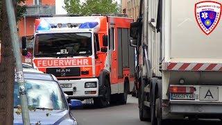 🚨 [HLF vs MÜLLWAGEN] HLF 20/20 Berufsfeuerwehr Leipzig FW West