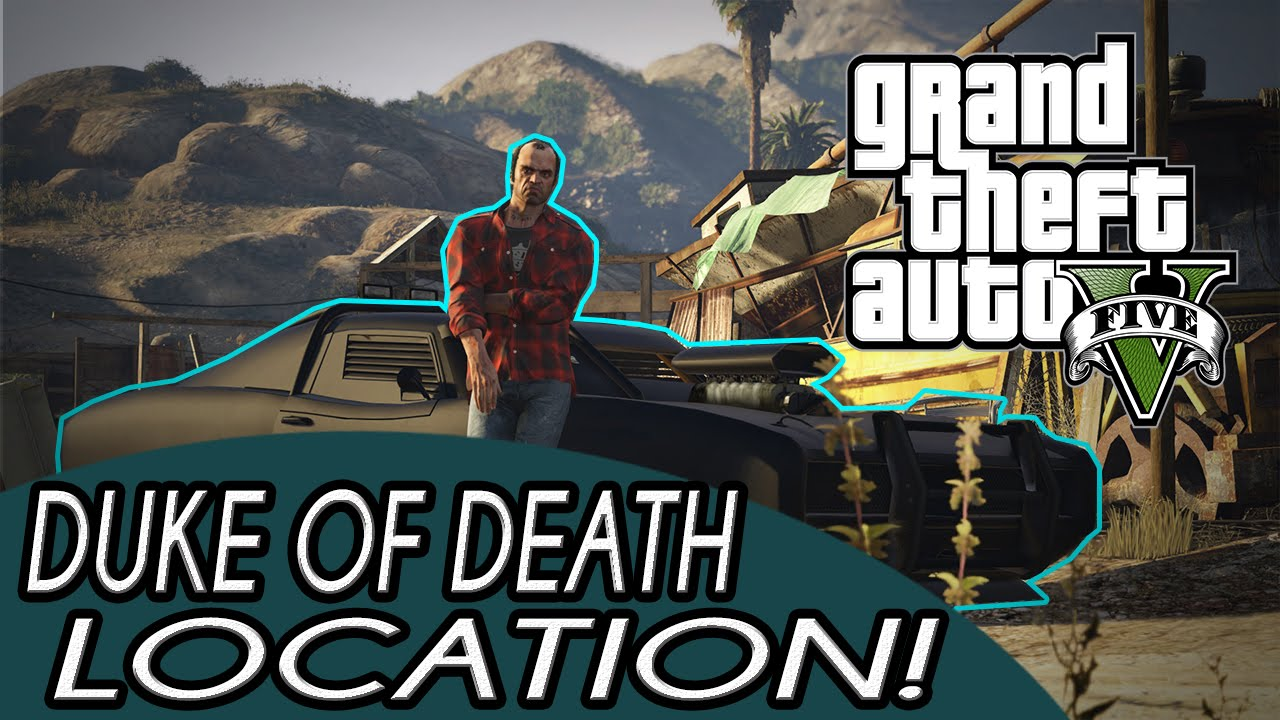 Gta The Duke Of Death Muscle Car Location Bullet Proof And All