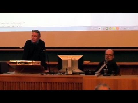 Luentosarja Mihail Bulgakovin tuotannosta 6.2.2017: Martti Anhava, Tomi Huttunen - YouTube