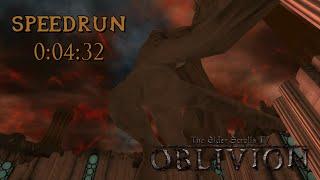 The Elder Scrolls IV: Oblivion - SpeedRun - 0:04:32