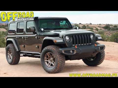 Concept Car Jeep Wrangler J Wagon Moab Easter Safari 2018