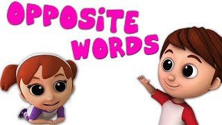 Luke & Lily - Opposite Words Song | Nursery Rhymes | Learning Video For Kids thumbnail