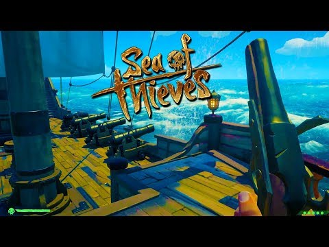 """SHE A BIG GIRL!"" - SEA OF THIEVES with The Crew!"