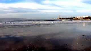 La plage St-Georges de Didonne en novembre