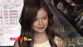 Mackenzie Foy TWILIGHT Breaking Dawn Part 2 Premiere ARRIVALS