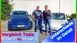 Vergleich Tesla Model Y vs. Model 3 | Unterschiede im Detail
