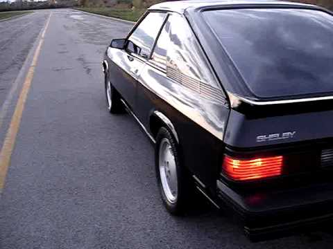 1987 Shelby Charger GLHS #477 - SOLD BY OWNER - Drive off - October, 2012