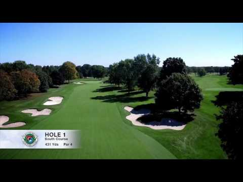 Hole 1 | South Course | Oakland Hills Country Club | Bloomfield Hills, MI