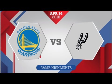 San Antonio Spurs vs Golden State Warriors Game 1: April 14, 2018