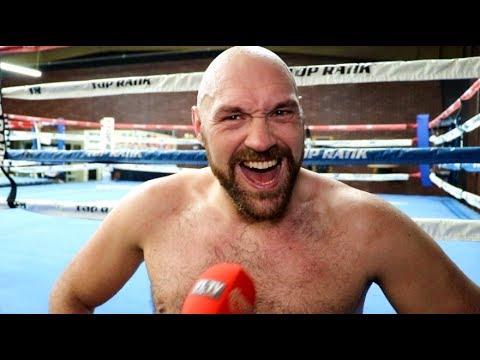 'I HAVE 3 FIGHTS LEFT - WILDER, JOSHUA, WHYTE!' - TYSON FURY / TALKS BEN DAVISON SPLIT & SLAMS USYK