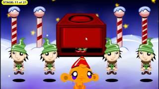 Счастливая Обезьянка Эльфы прохождение Monkey GO Happy Elves walkthrough