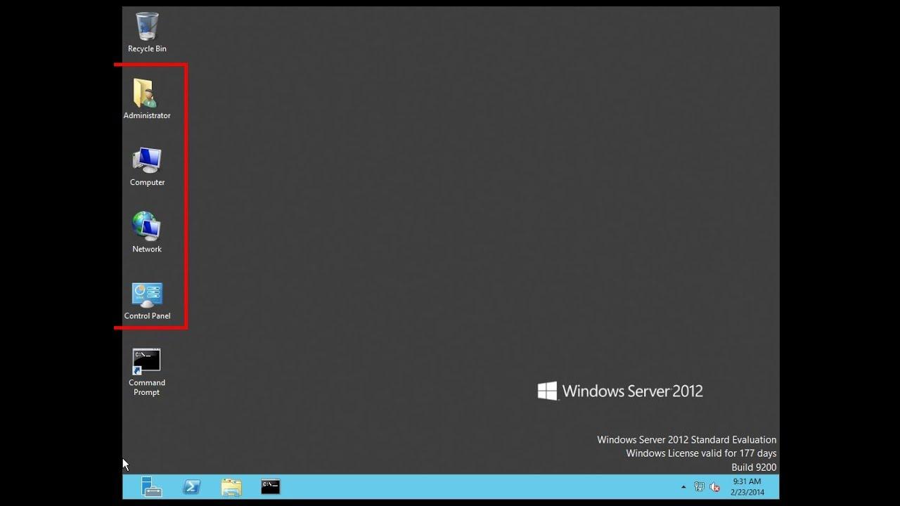 Chỉ dẫn Thêm Run Vào Win Task Bar Trong hệ điều hành win 2012 Server