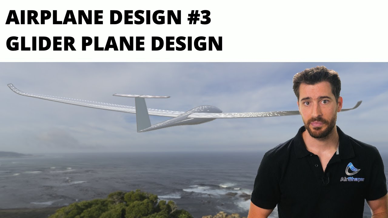 Airplane design #3 - Glider plane design
