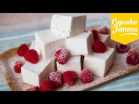 Make Easy Marshmallow Recipe feat. Happy Mallow | Cupcake Jemma Pictures