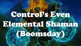 Hearthstone [WILD] Elemental Even Shaman - Missed lethals, King Mosh & fun times! (1080p)