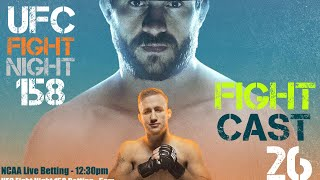 The Sports Keg - FightCast #26 (LIVE Betting UFC Vancouver & the NCAAF card.)