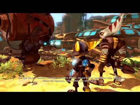 Ratchet & Clank: A Crack In Time - All Cutscenes/Cinematics (The Movie)