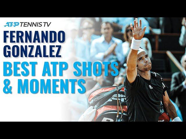 Fernando Gonzalez: Best ATP Tennis Shots & Moments!