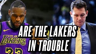 Why The Lakers Are Bad And Why They Might Not Make The Playoffs