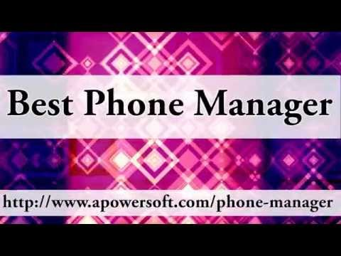Apowersoft Phone Manager - The best iPhone/Android device manager
