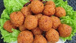 How to make kho thot ເຂົ້າທອດ Lao food