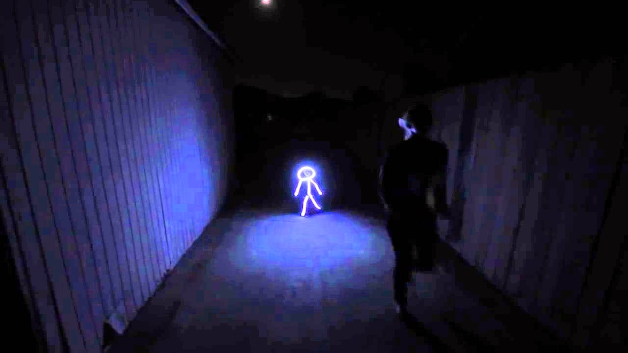 Lustiges LED Halloween Kostüm - YouTube
