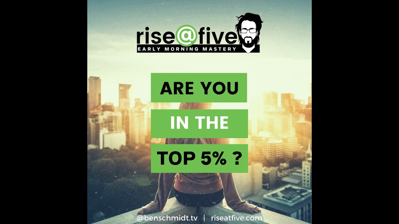 want to be in the top 5%? the truth