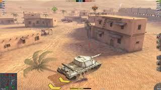 WoT Blitz Object 268 5.9K Average game