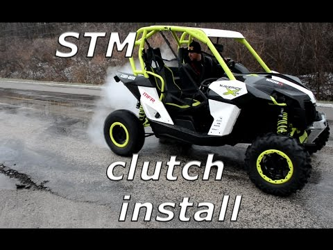 STM install on a Can-Am Maverick, burnouts, donuts, and mud mayhem!!!