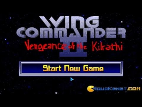 Wing Commander 2 gameplay (PC Game, 1991)