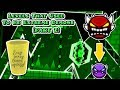 Top 5 Levels That Used To Be Extreme Demons (Part 2) | Geometry Dash 2.1