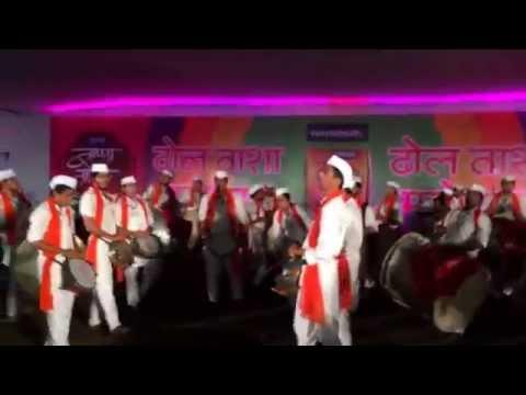 Shreeram Pathak @ Sakal Dhol Tasha Competition 2014