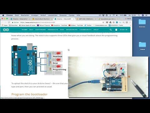 Plauderei am Donnerstag  40: Wie kommt der Bootloader auf den Arduino?
