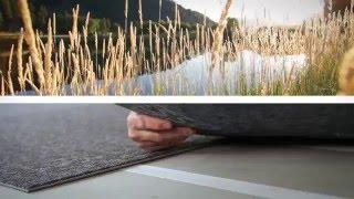 видео Ковролин плитками