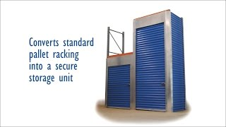 Trac-Rite Rack Security Enclosures