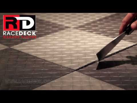 Racedeck Garage Floors How To Replace Remove A Single Garage