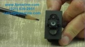 How to remove rocker switch - YouTube
