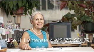 2018 Alumni Award of Merit: Alice Lichtenstein