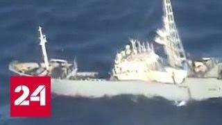 Взята с бою: браконьерскую шхуну из КНДР отбуксировали в Находку