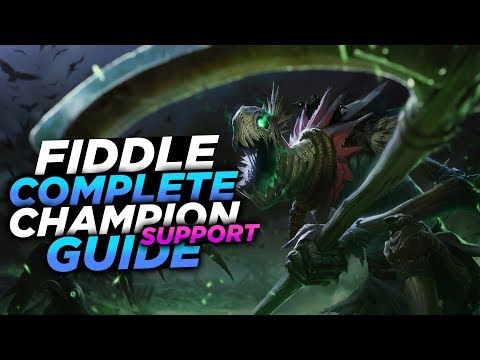 THE MOST BROKEN SUPPORT TO EVER GO BOTLANE!! - SEASON 8 FIDDLESTICKS GUIDE! - League of Legends